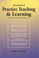 Journal of Practice Teaching front cover Social Work, Health, Nursing