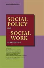Social Policy and Social Work in Transition cover